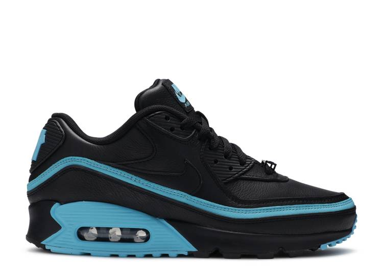 """Undefeated x Air Max 90 """"Black Blue Fury"""""""