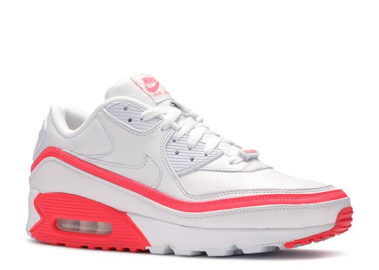 Undefeated X Air Max 90 White Solar Red Nike Cj7197 103