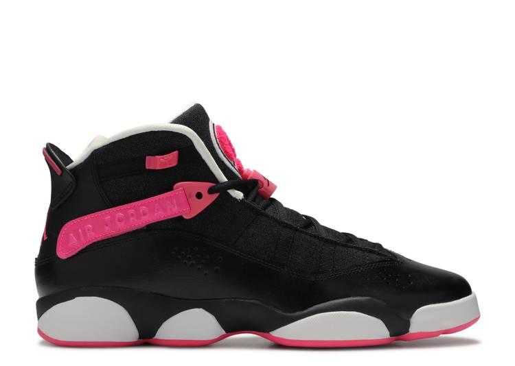 Jordan 6 Rings GS 'Black Pink'
