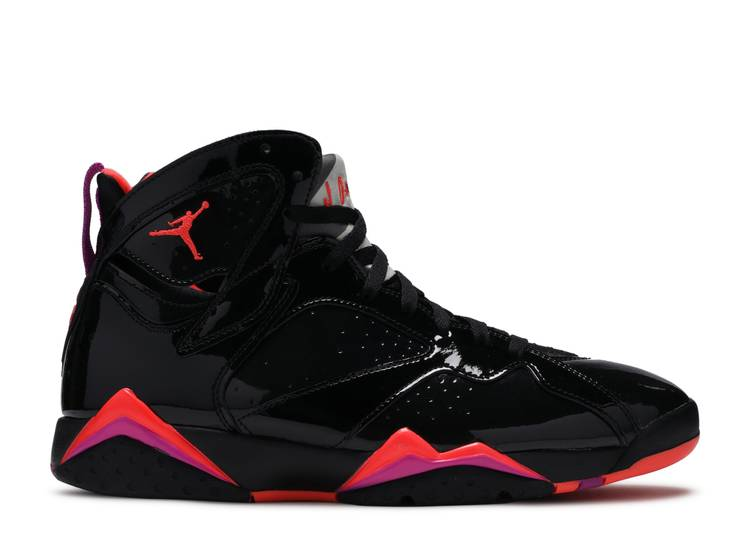 Wmns Air Jordan 7 Retro 'Black Gloss'