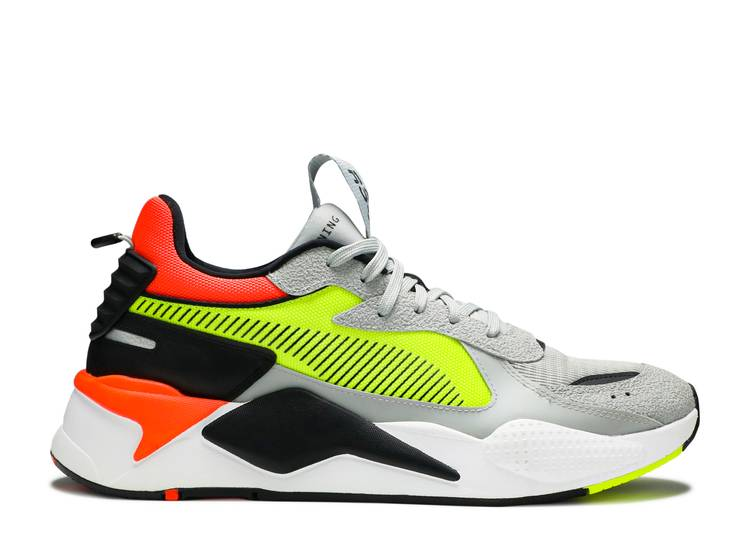 RS-X Hard Drive 'Grey Yellow Red'