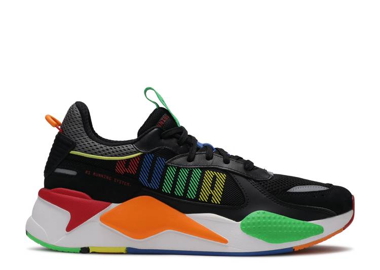 RS-X Bold 'Black Andean Toucan Orange'