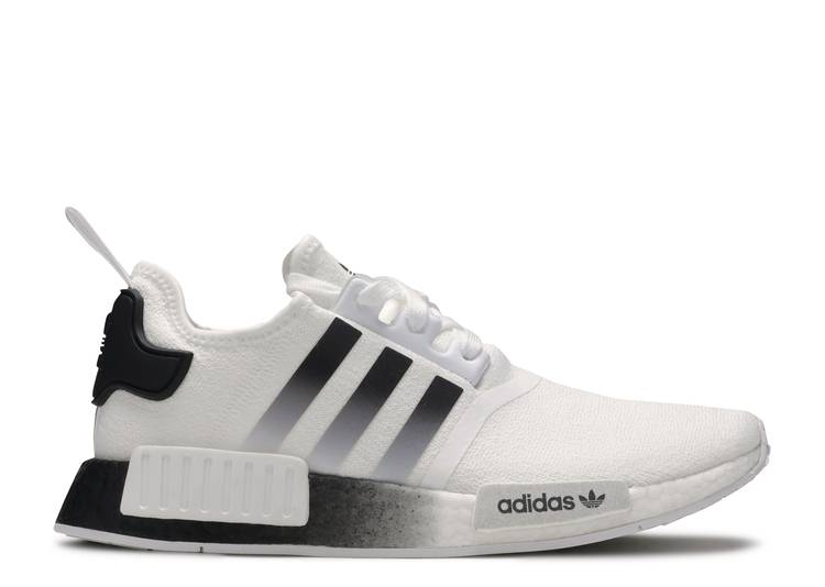Nmd R1 White Black Gradient Adidas Eg7410 Cloud White Core