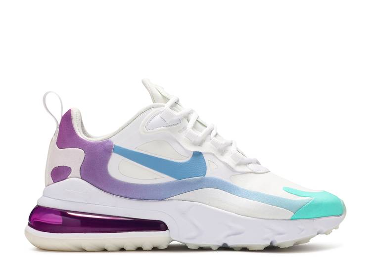 Wmns Air Max 270 React Nike At6174 102 White Aurora Vivid