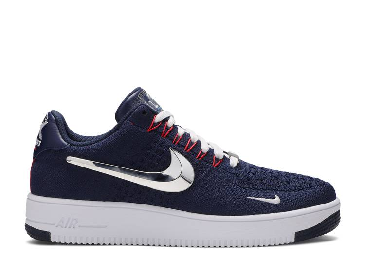 Patriots x Air Force 1 Low Ultra Flyknit '6X Champs'