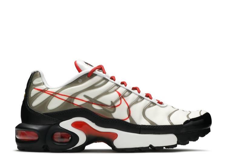 Air Max Plus Gs Script Swoosh Nike Cq4815 100 White Black
