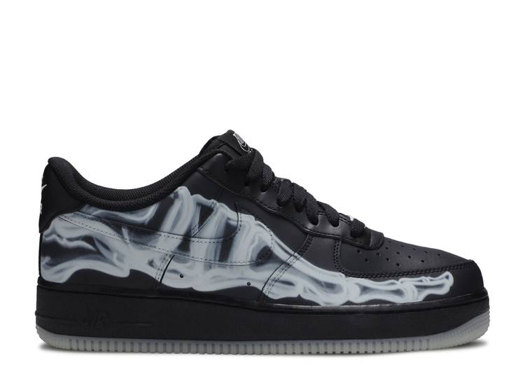 Air Force 1 '07 QS 'Black Skeleton'