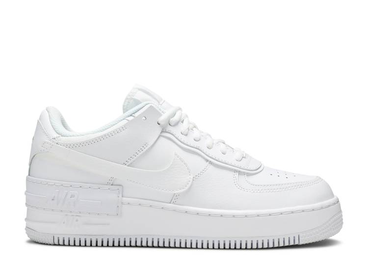 "Wmns Air Force 1 Shadow ""Triple White"""