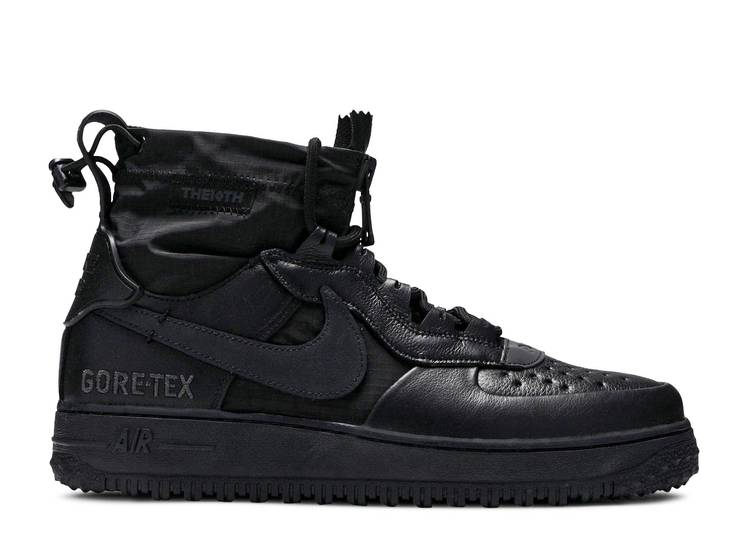 Gore-Tex x Air Force 1 High 'Triple Black'