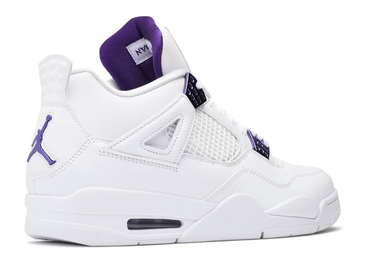 Air Jordan 4 Retro 'Purple Metallic'