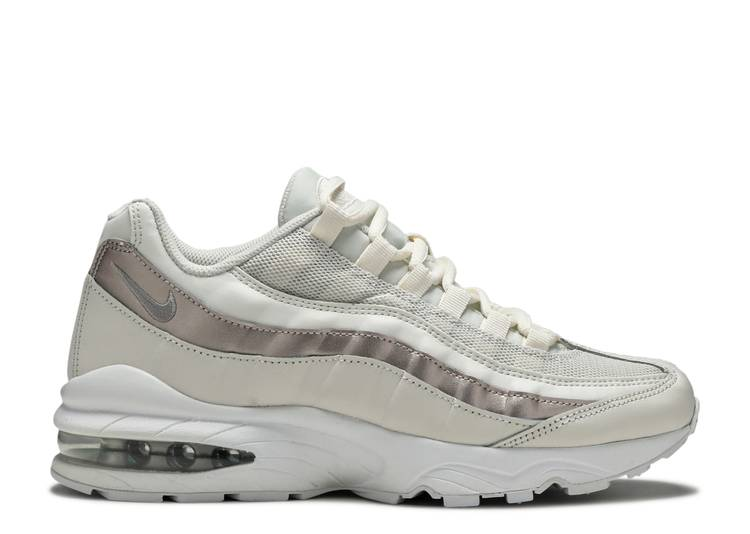 air max 95 white and rose gold