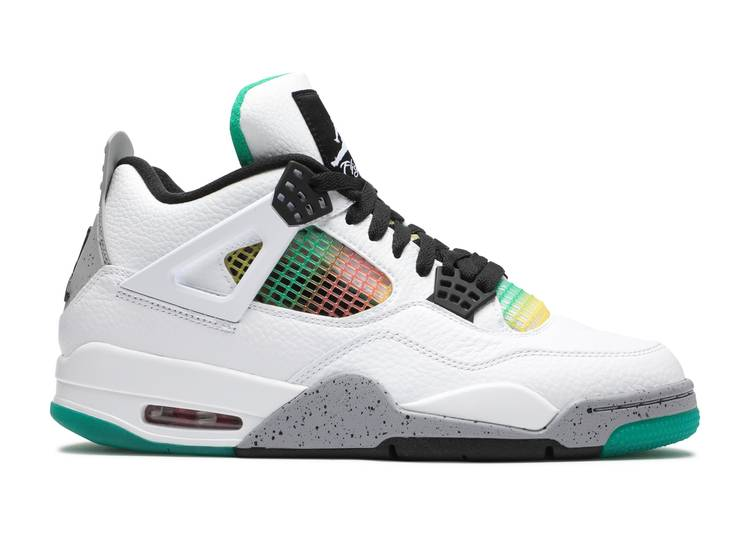 Wmns Air Jordan 4 Retro 'Rasta'