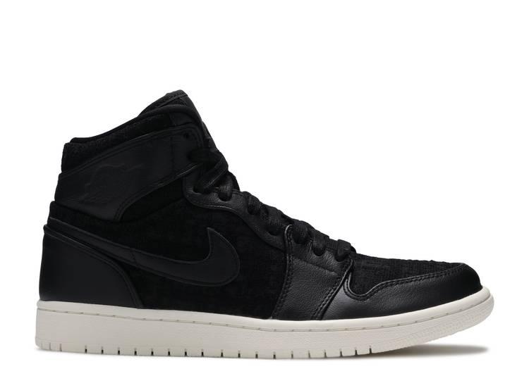 Wmns Air Jordan 1 Retro High Premium 'Black'
