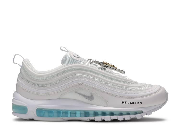 MSCHF x INRI x Air Max 97 'Jesus Shoes' Custom