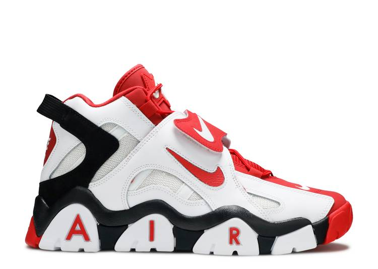 Air Barrage Mid 'University Red'