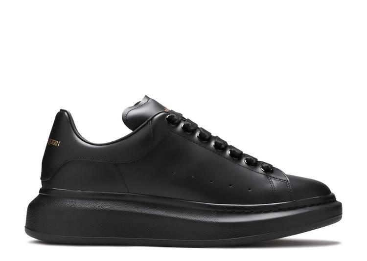 Alexander McQueen Oversized Sneaker 'All Black'