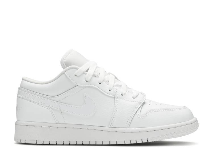Air Jordan 1 Low GS 'Triple White'