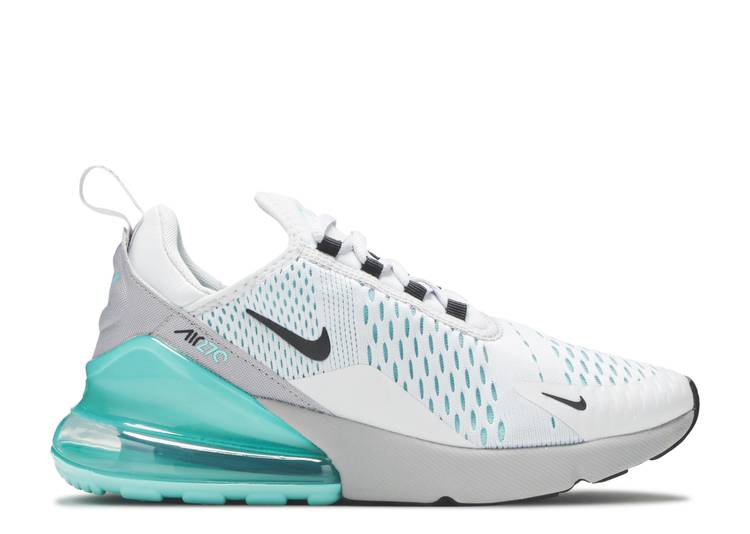 Wmns Air Max 270 'Platinum Aurora Green'