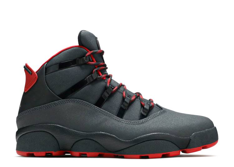 Jordan Winterized 6 Rings 'Anthracite Gym Red'