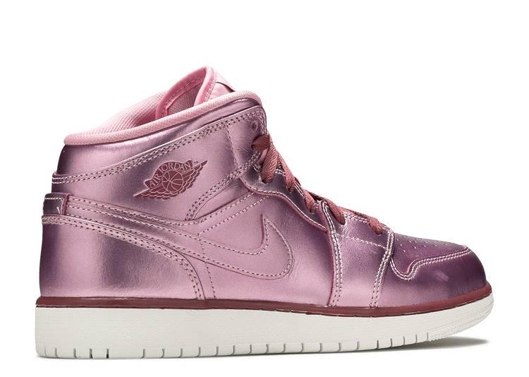Air Jordan 1 Mid SE GS 'Pink Rose'