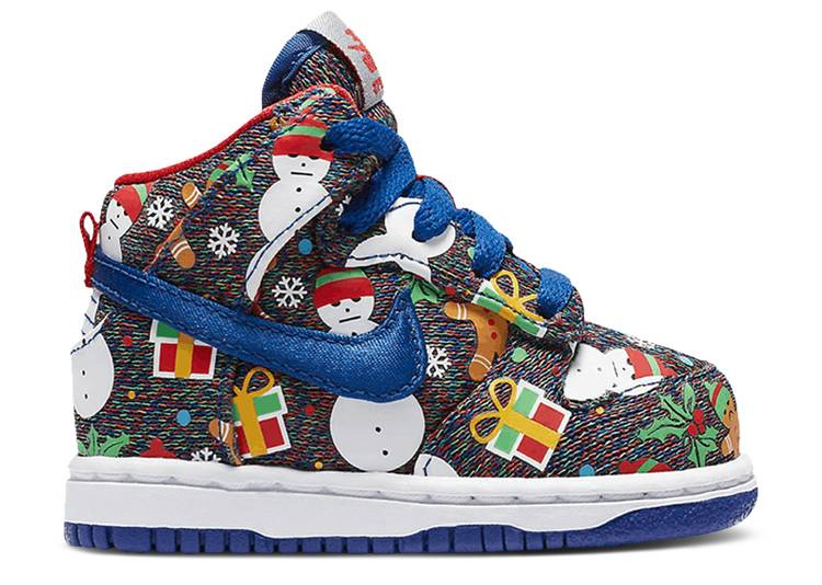 Dunk High QS TD 'Ugly Christmas Sweater' 2017