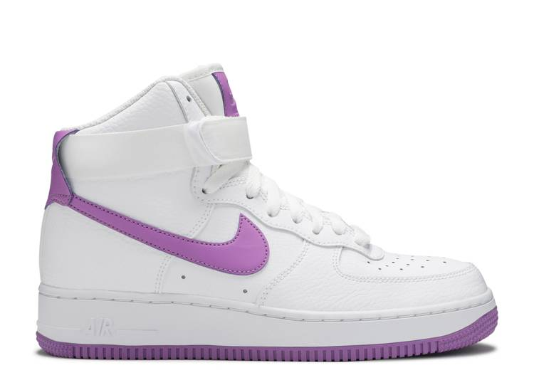 Wmns Air Force 1 High 'White Dark Orchid'