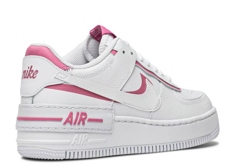 Wmns Air Force 1 Shadow White Magic Flamingo Nike Ci0919 102