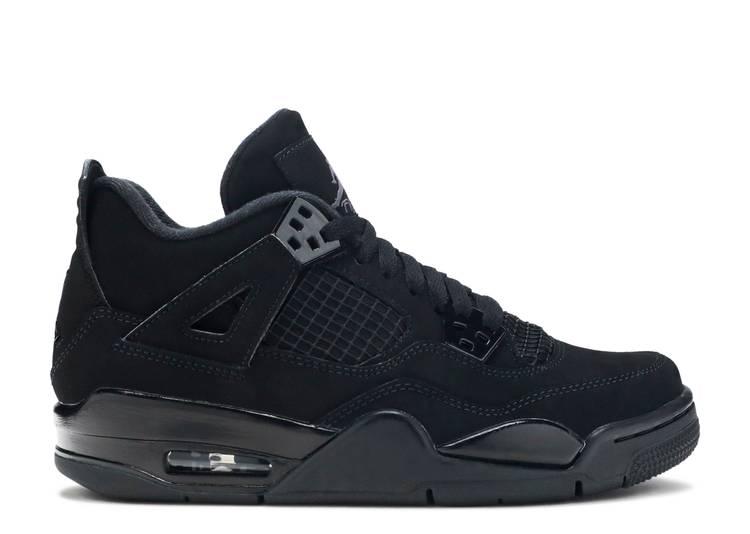 Air Jordan 4 Retro GS 'Black Cat' 2020