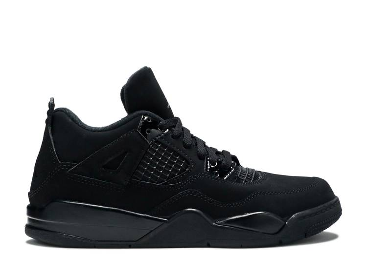 Air Jordan 4 Retro PS 'Black Cat' 2020