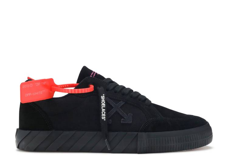 Off-White Vulc Sneaker 'Black Suede'