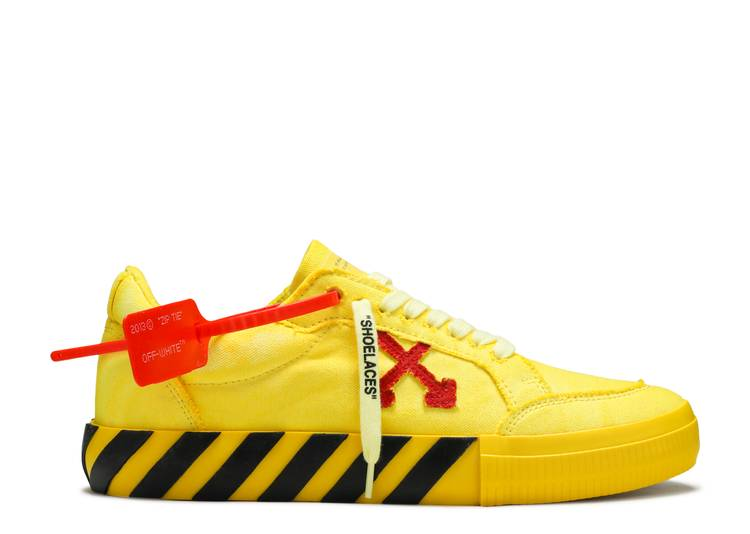 Off-White Vulc Sneaker 'Yellow Red'