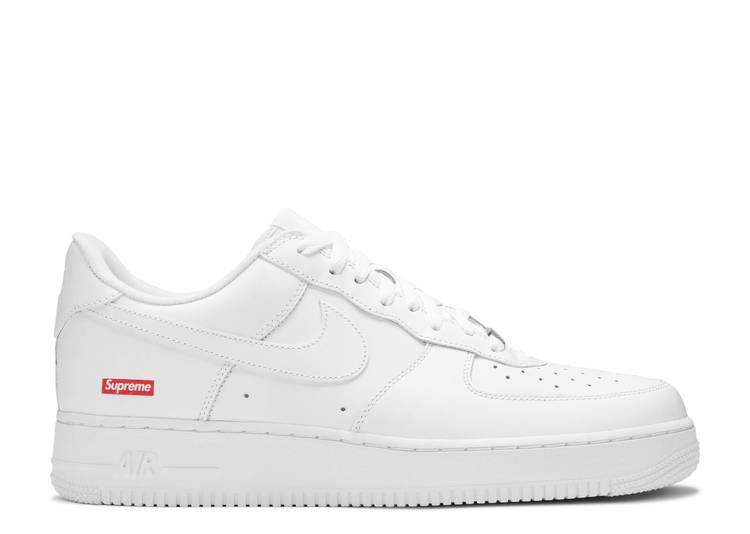 "Supreme x Air Force 1 Low ""Box Logo - White"""