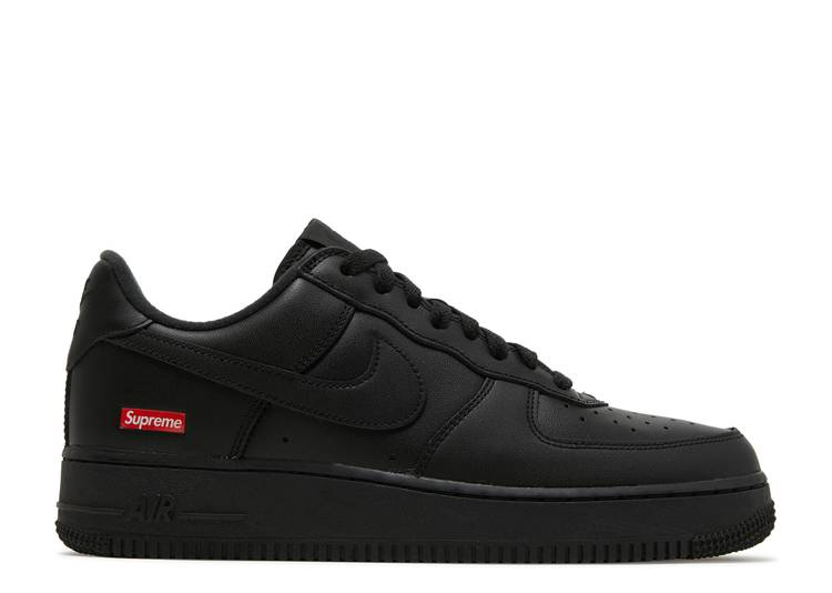 "Supreme x Air Force 1 Low ""Box Logo - Black"""