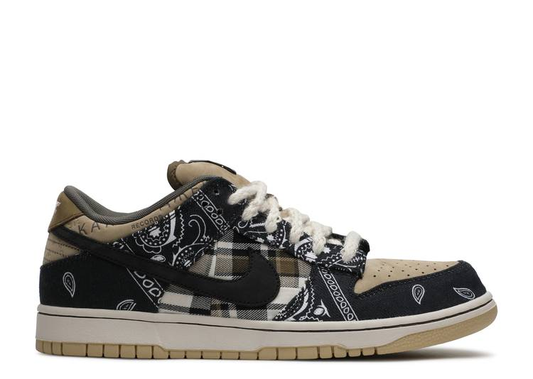 "Travis Scott x Dunk Low SB ""Cactus Jack"""