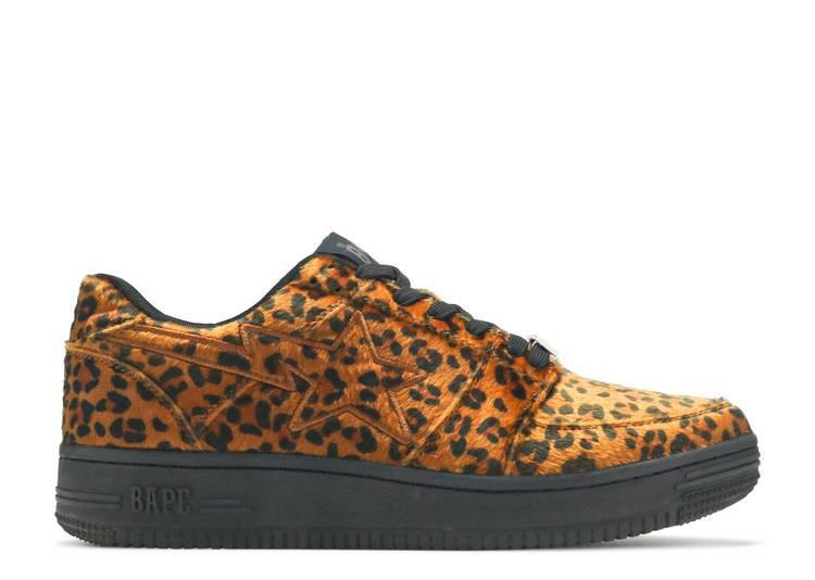 Bapesta Low 'Leopard Print'