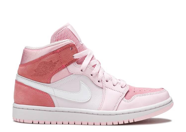 Wmns Air Jordan 1 Mid 'Digital Pink'