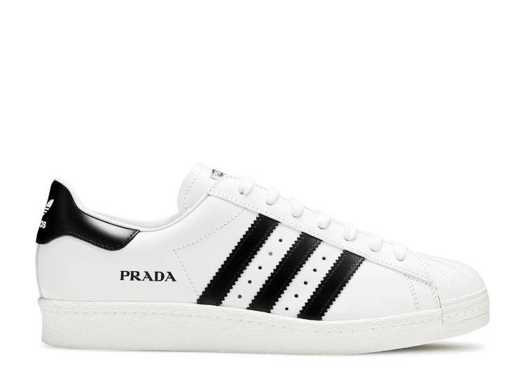 Prada x Superstar 'White Black'