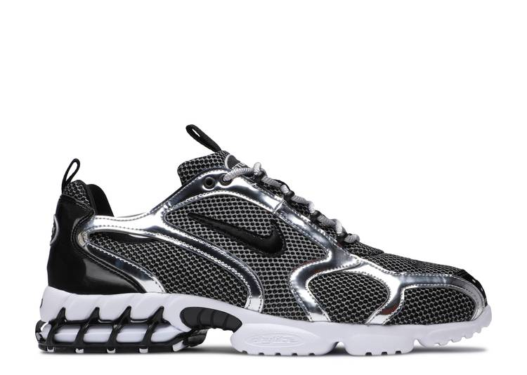 Stussy x Air Zoom Spiridon Caged