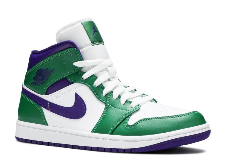 air jordan 1 mid scarpe verdi