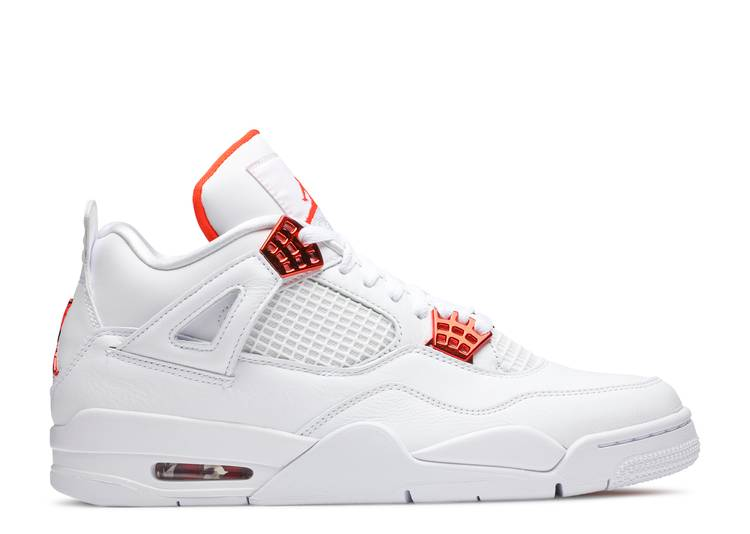 "Air Jordan 4 Retro ""Orange Metallic"""