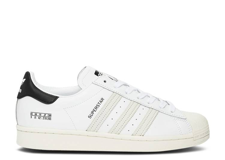 Superstar 'Size Tag - Cloud White'
