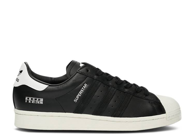 Superstar 'Size Tag - Core Black'