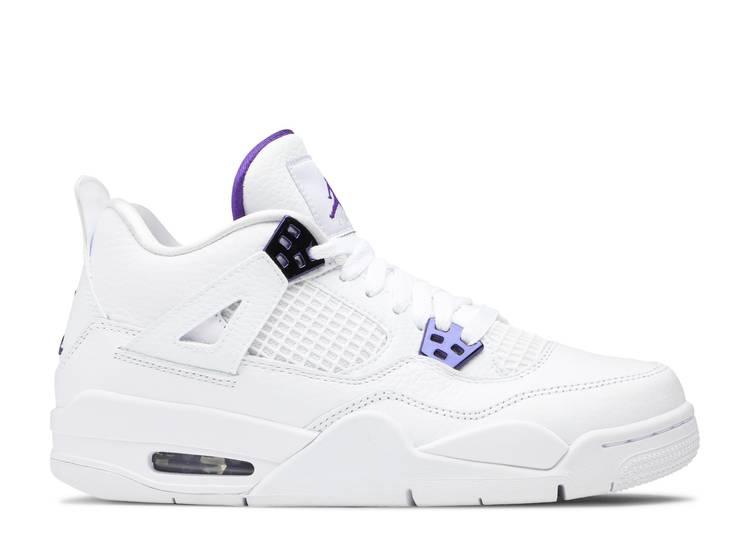 Air Jordan 4 Retro GS 'Purple Metallic'