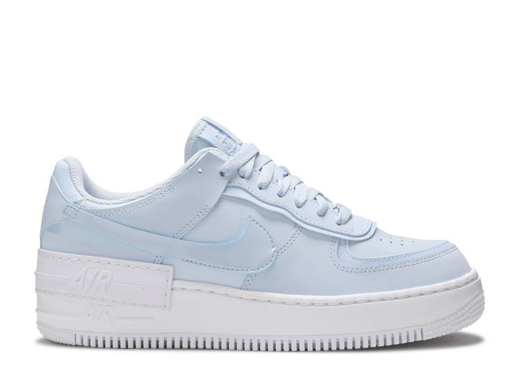 air force 1 shadow blu e nere
