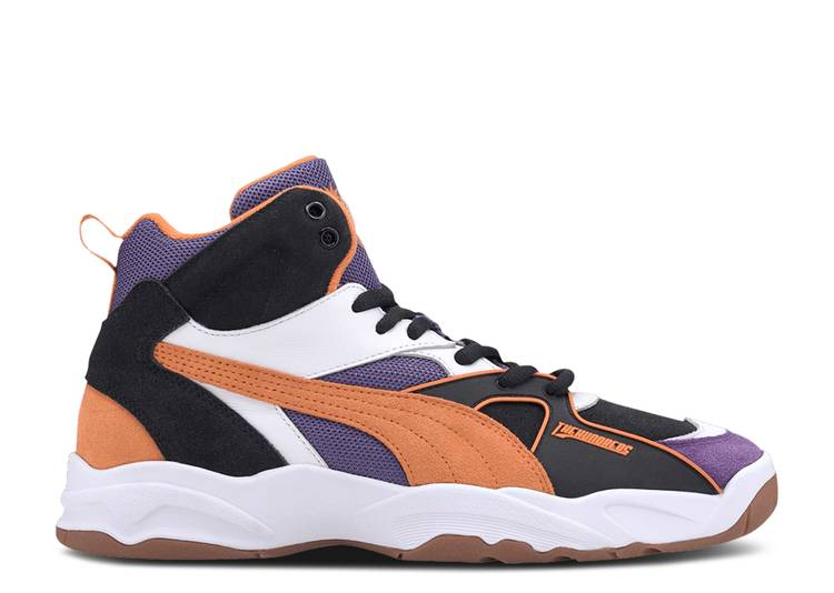 The Hundreds x Performer Mid 'Black Persimmon'