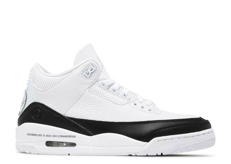 Fragment Design x Air Jordan 3 Retro SP 'White'
