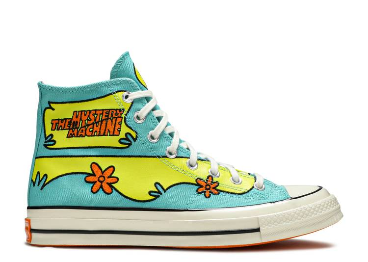Scooby-Doo x Chuck 70 High 'The Mystery Machine'