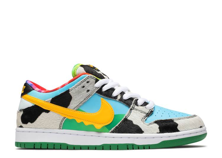 Ben & Jerry's x Dunk Low SB Special Ice Cream Box 'Chunky Dunky'