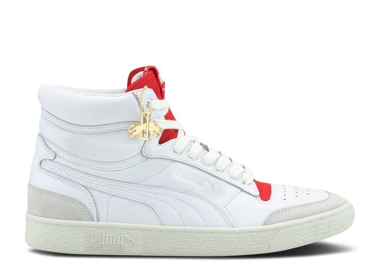 Rudolf Dassler Legacy x Ralph Sampson Mid 'High Risk Red'