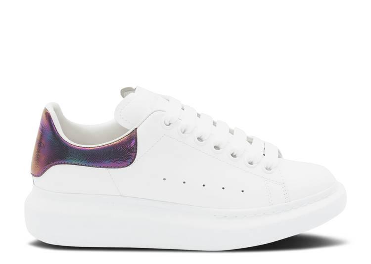 Alexander McQueen Wmns Oversized Sneaker 'White Amethyst'